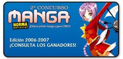 Concurso manga editorial Norma 2007 ganadores