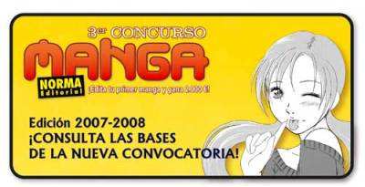 Editorial Norma Concurso Manga 2008