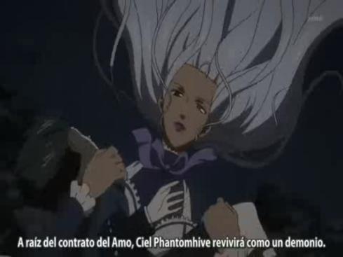Hannah kuroshitsuji 2 ultimo capitulo revela el utimo contrato con Alois