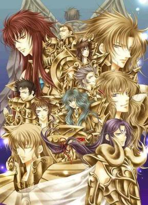 golden saint saint seiya