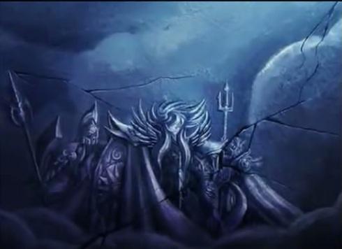 Ares, Hades, poseidon